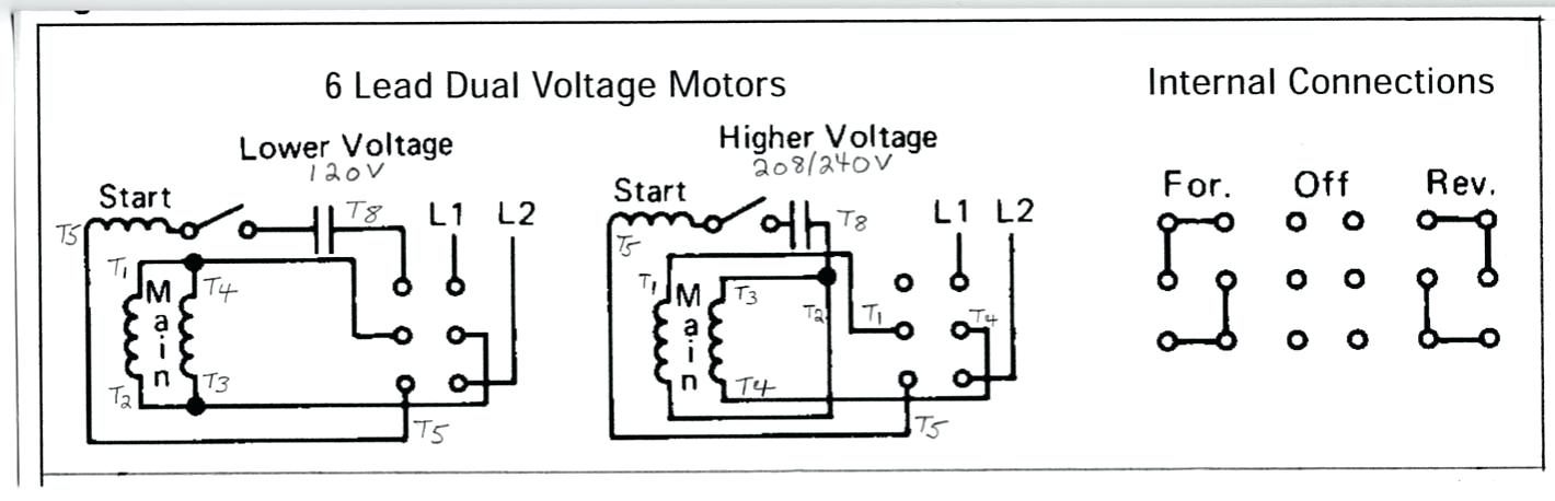 6 wire single phase motor wiring diagram western snow plow