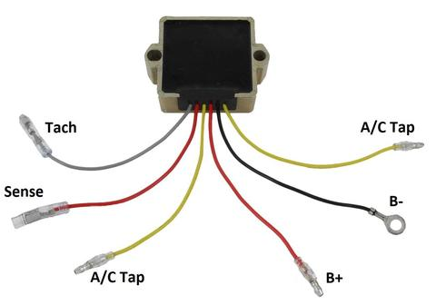5 Wire Regulator Diagram - Wiring Diagramsfold.well.lesvignoblesguimberteau.fr
