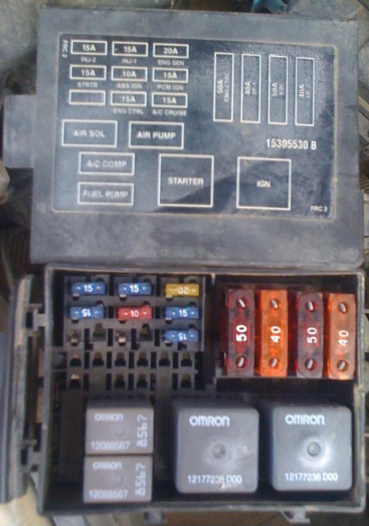 KO_5101] Main Fuse Box 2000 Camaro Schematic Wiring