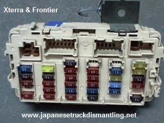2001 Xterra Fuse Box Wiring Diagram Visual Visual Cfcarsnoleggio It