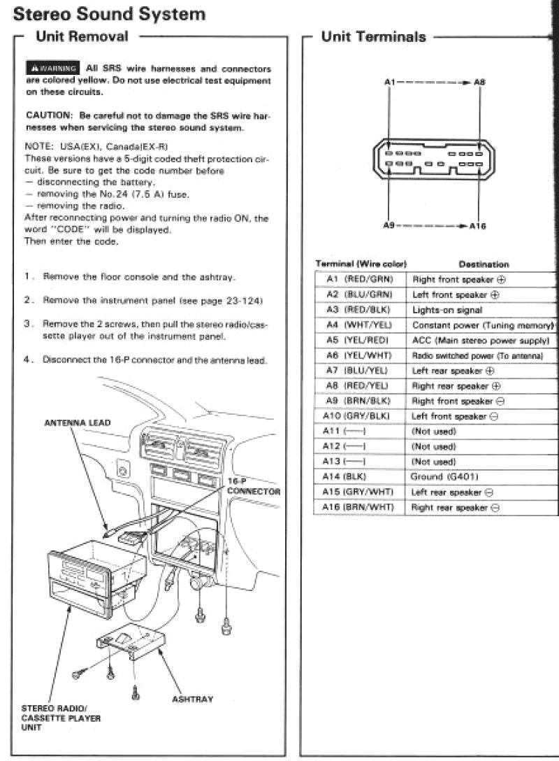 Honda Element Wiring - General Wiring Diagrams81.ku.tarnopolski.de