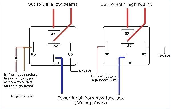 ed7807 pin relay wiring diagram relay wiring diagram 5 pin