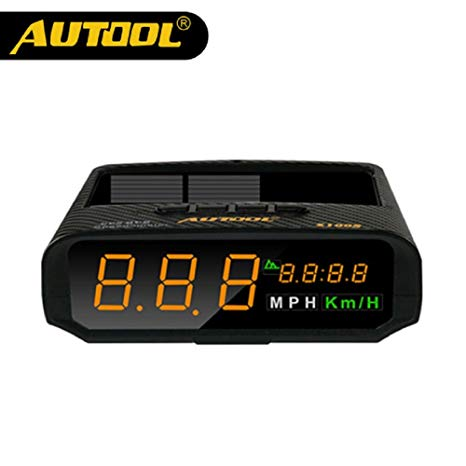 Awe Inspiring Amazon Com Autool Automotive Solar Gps Hud Speedometer Mph Kmh With Wiring Cloud Rometaidewilluminateatxorg