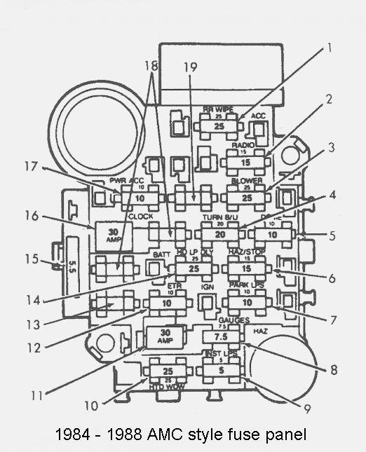 93 jeep cherokee fuse diagram fz 1003  stop light wiring diagram for 1988 cherokee wiring diagram  stop light wiring diagram for 1988