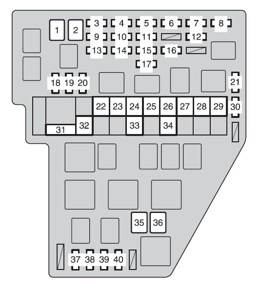 MW_0584] 2010 Toyota Sienna Fuse Box Diagram Wiring Diagram