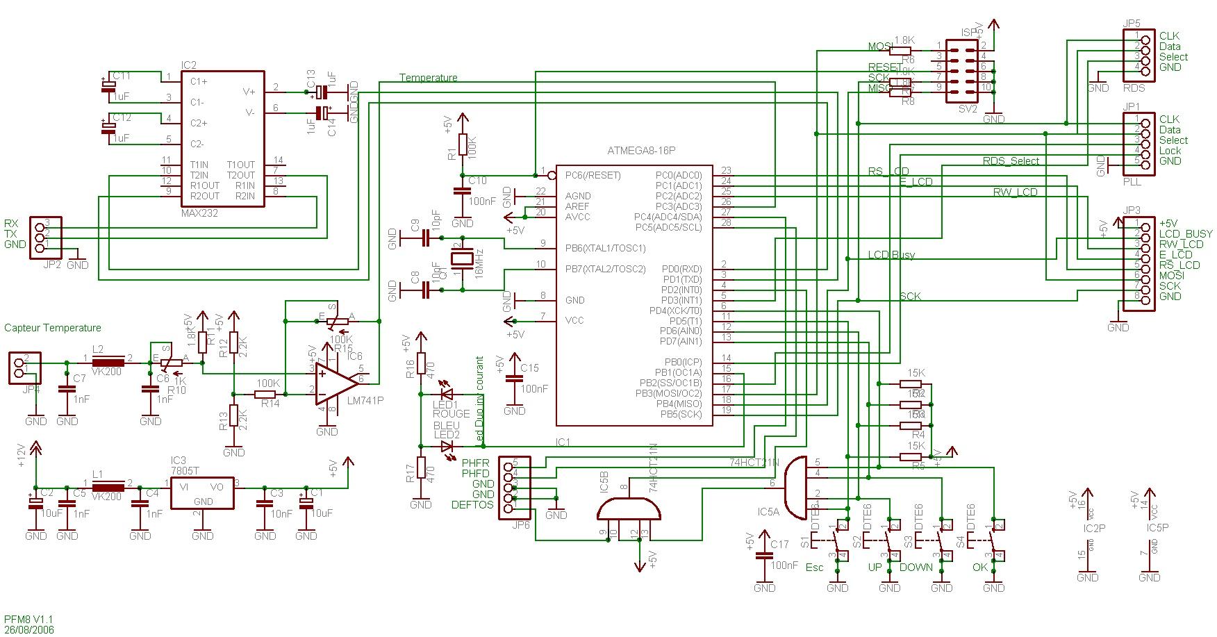 atmega8 circuit diagram sw 5587  avr atmega8 board for pll mc145170 free diagram  avr atmega8 board for pll mc145170 free