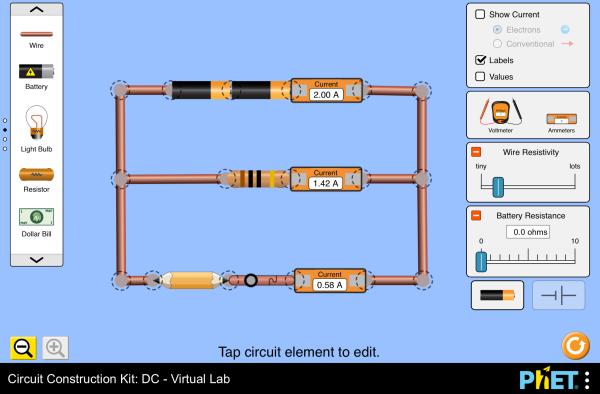 Surprising Circuit Construction Kit Dc Virtual Lab Series Circuit Wiring Cloud Ittabisraaidewilluminateatxorg