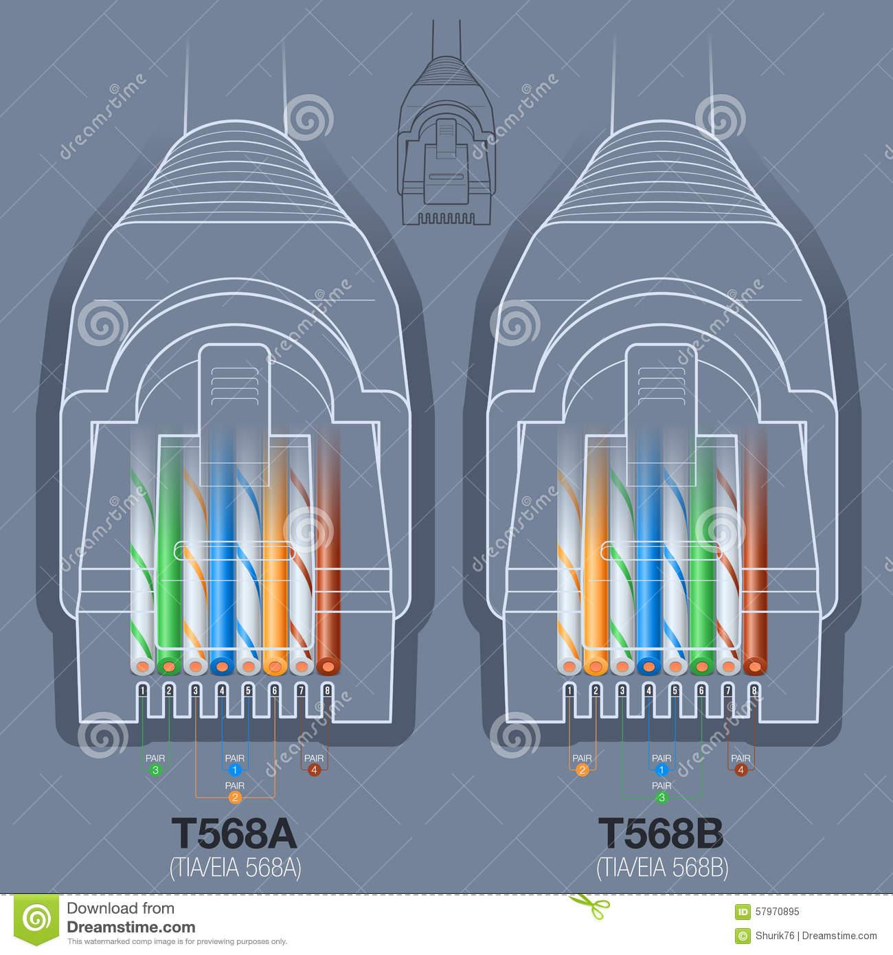 [DIAGRAM_4FR]  EY_8864] T568A Vs T568B Diagram Bing Images Free Diagram | T568a Cat5e Wiring Diagram |  | Www Mohammedshrine Librar Wiring 101