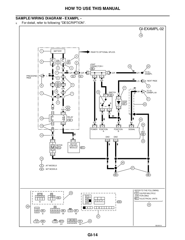 2000 frontier ignition wiring diagram schematic  center