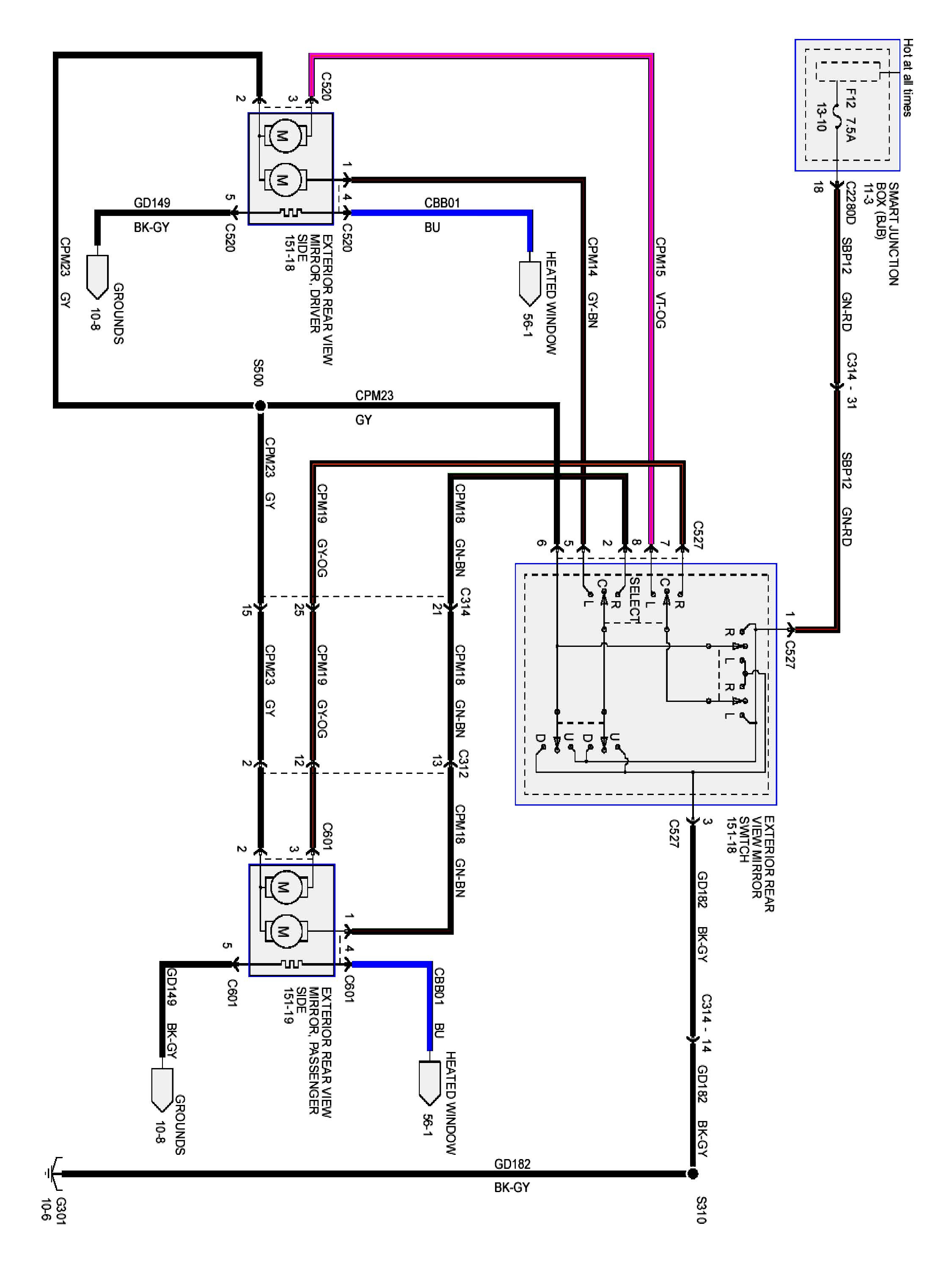 LC_8969] Mirrors For Ford Remote Wiring Diagram Schematic WiringAlma Genion Effl Inkl Cette Mohammedshrine Librar Wiring 101