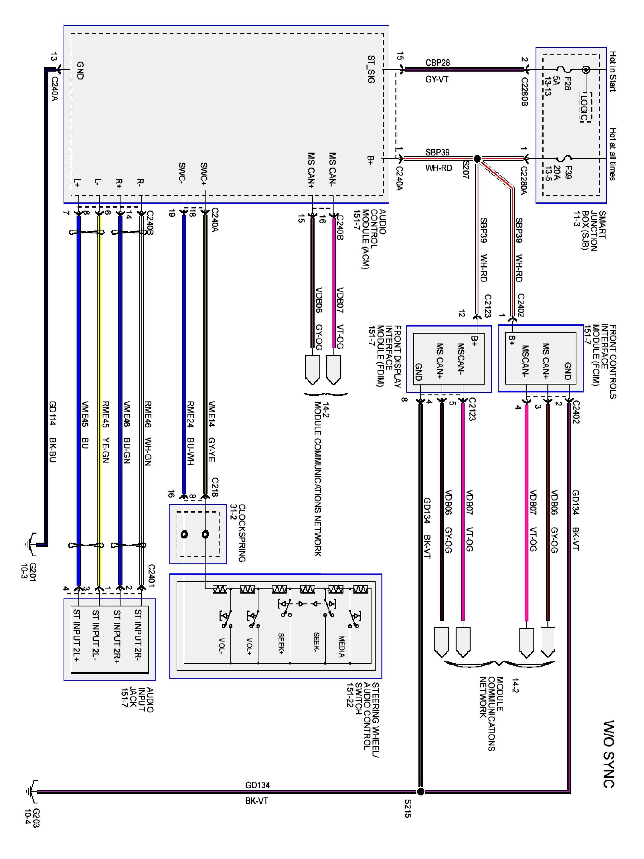 2014 Ford Focus Wiring Diagram Diagram 2004 5 4 Liter Tritan Madfish It