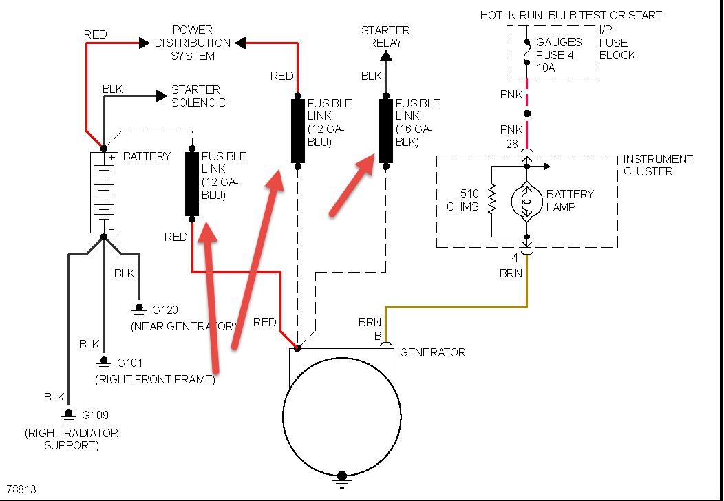 Groovy 96 Chevy Alternator Wiring Diagram Wiring Diagram Wiring Cloud Rineaidewilluminateatxorg