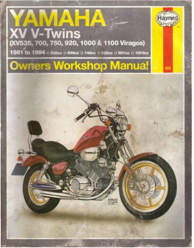 Awe Inspiring Yamaha Xv V Twins 81 94 Wiring Cloud Lukepaidewilluminateatxorg