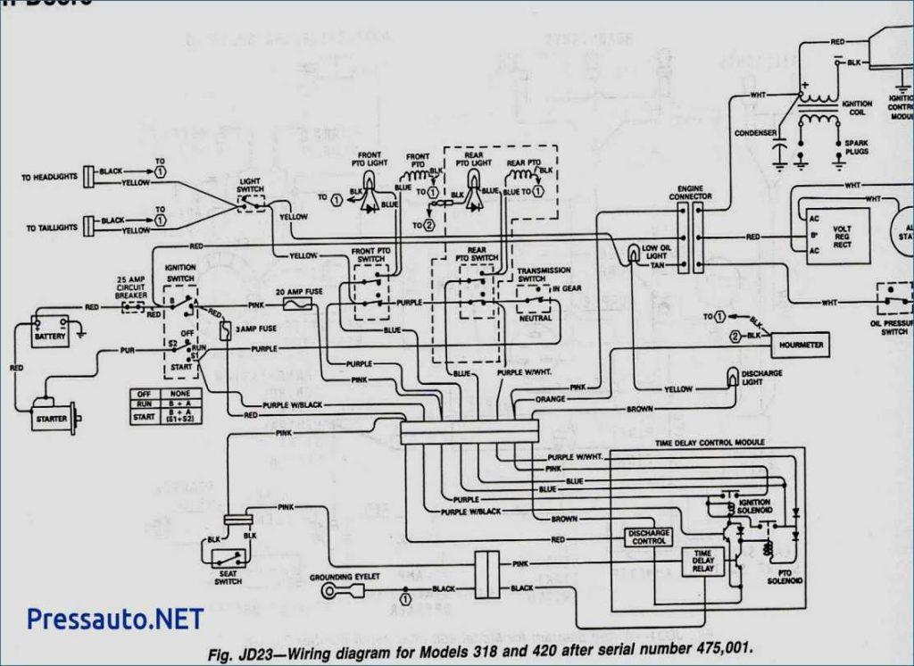 John Deere L130 Pto Clutch Wiring Diagram