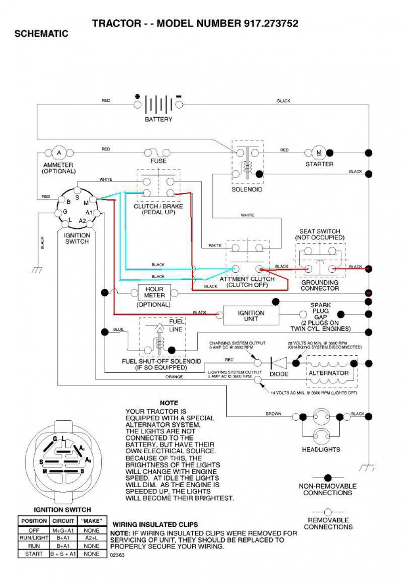 Sears Lt2000 Wiring Diagram