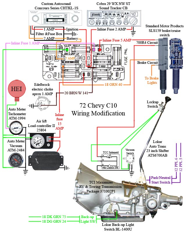 700r4 Transmission Wiring Diagram