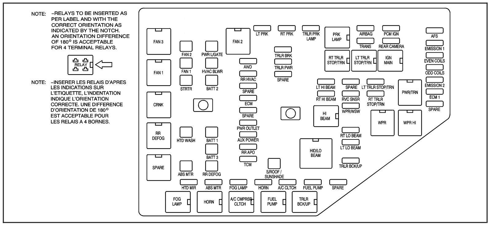 2008 dodge grand caravan fuse box diagram kc 5863  2000 dodge avenger center under the dash fuse box diagram  dash fuse box diagram