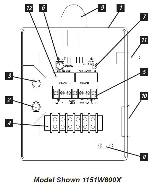 Tremendous Sje Rhombus Sje Rhombus Model 115 Simplex Single Phase Switch Wiring Cloud Vieworaidewilluminateatxorg