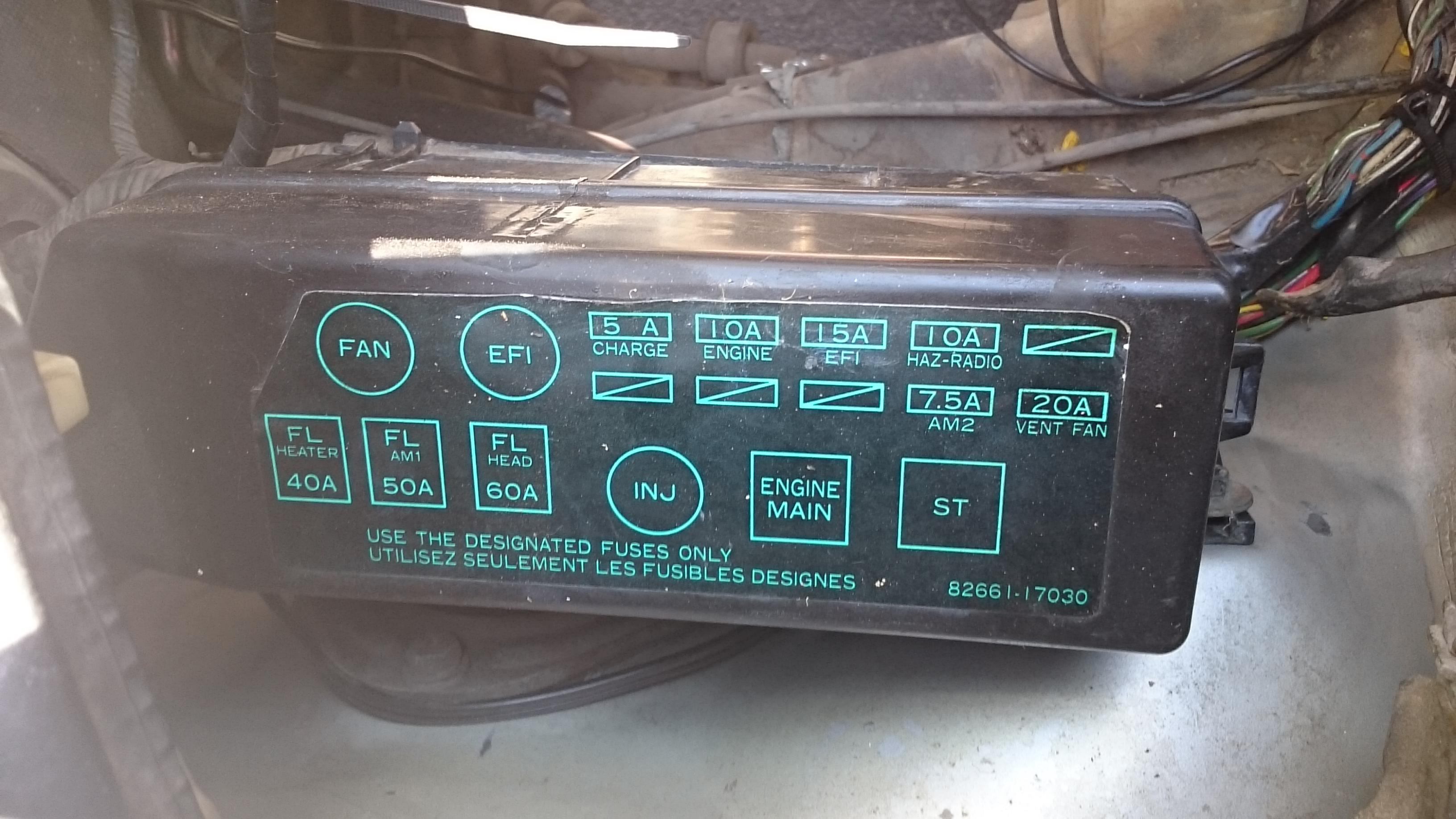 Superb 92 Toyota Mr2 Fuse Box Everything Wiring Diagram Wiring Cloud Faunaidewilluminateatxorg