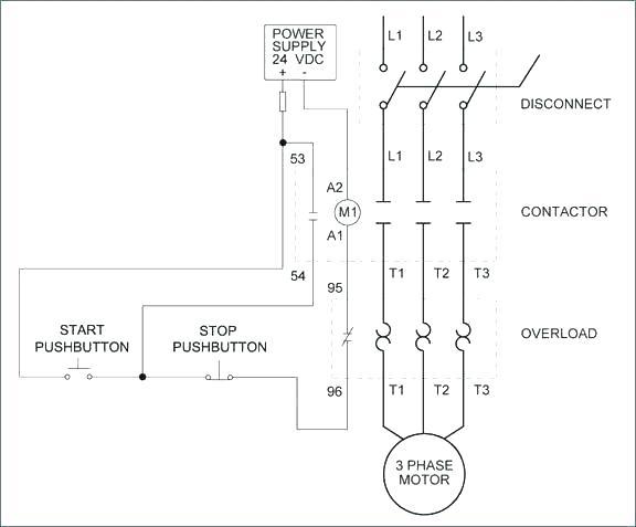 Siemens Motor Contactor Wiring Diagram