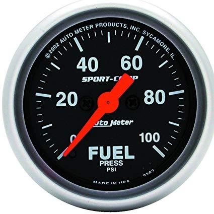 Enjoyable Auto Meter 3363 Sport Compact Fuel Pressure Gauge Fuel Amazon Canada Wiring Cloud Onicaalyptbenolwigegmohammedshrineorg