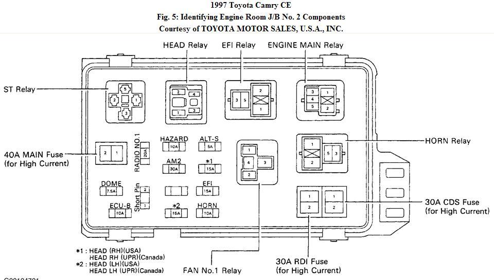 1999 camry fuse diagram schematic ak 1646  2000 toyota camry wiring diagram moreover 1998 toyota  toyota camry wiring diagram moreover