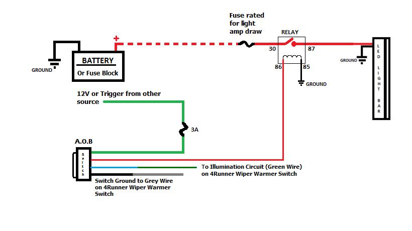 12v Led Bar Wiring Diagram 57 Chevrolet Truck Wiring Diagram For Wiring Diagram Schematics