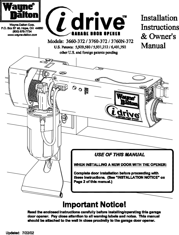 Wayne Dalton Garage Door Repair Manual