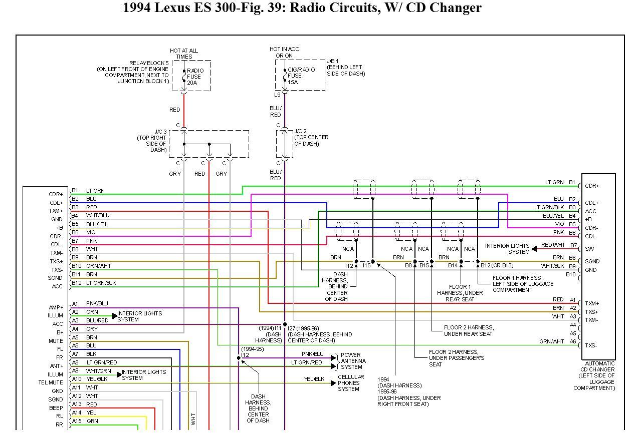 1996 Lexus Ls400 Stereo Install Wiring Info Diagrams Club Wiring Diagram Left United6 Left United6 Maceratadoc It
