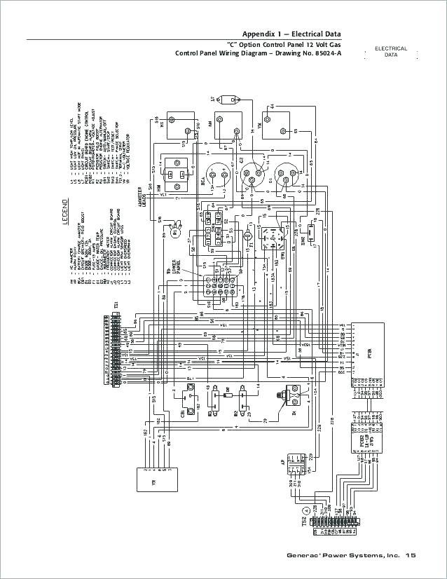 generac 20kw wiring diagram