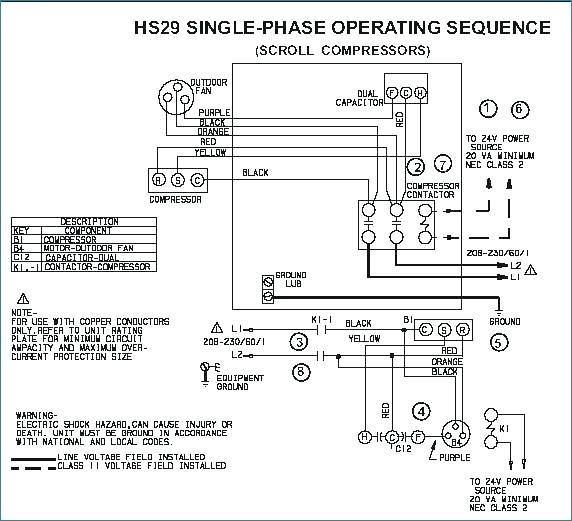WS_8863] Hvac Contactor Wiring Diagram For Compressor Schematic WiringVell Gritea Mohammedshrine Librar Wiring 101