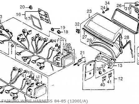 Nc 7458 1984 Honda Gl1200 Aspencade Wiring Diagram Download Diagram