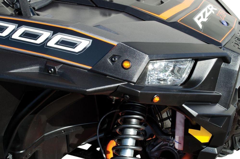 HIGH VISIBILITY LED Turn Signal Light Kit Polaris Ranger 900 XP