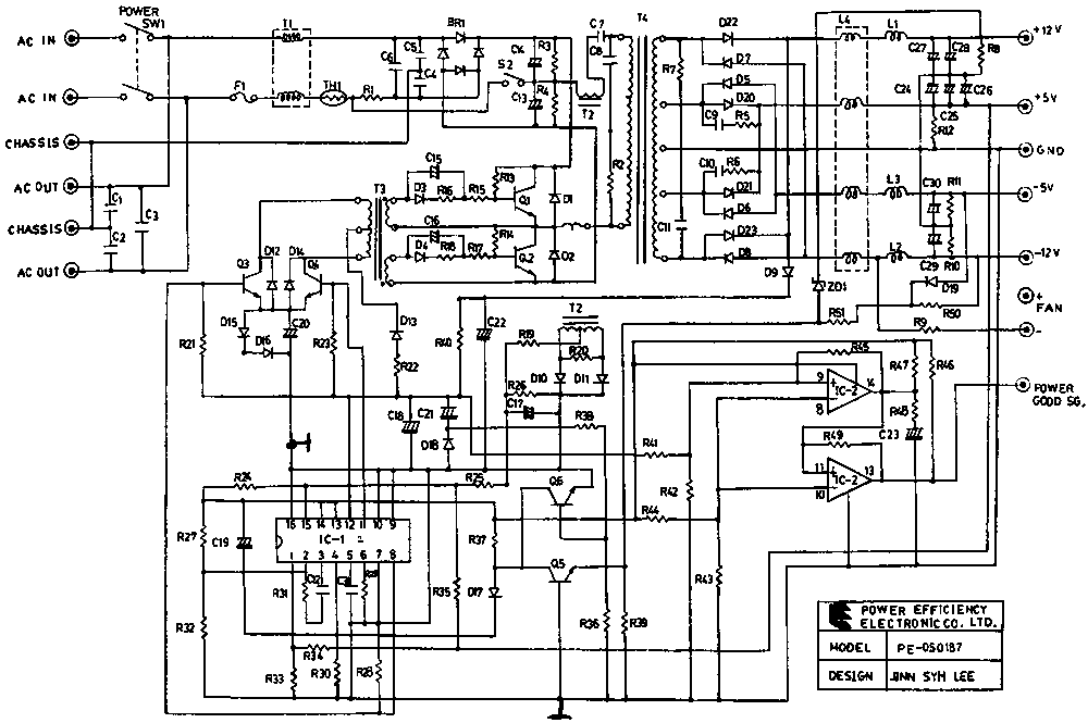 Marvelous At And Atx Pc Computer Supplies Schematics Wiring Cloud Faunaidewilluminateatxorg