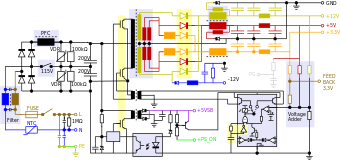 Brilliant 450 W Smps Circuit Diagram Wiring Diagram Database Wiring Cloud Itislusmarecoveryedborg
