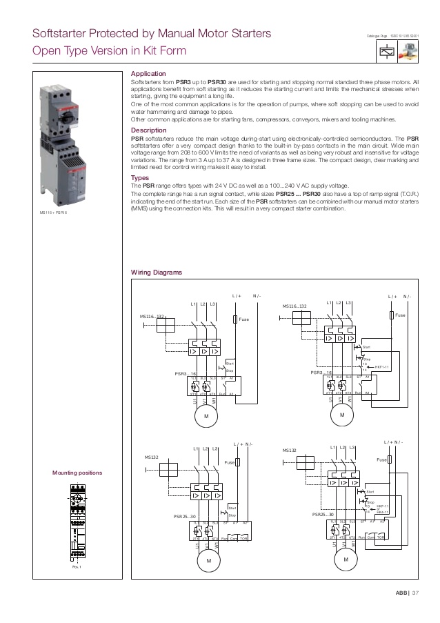 abb wiring diagrams ws 3618  abb motor starters control wiring diagram free diagram  motor starters control wiring diagram