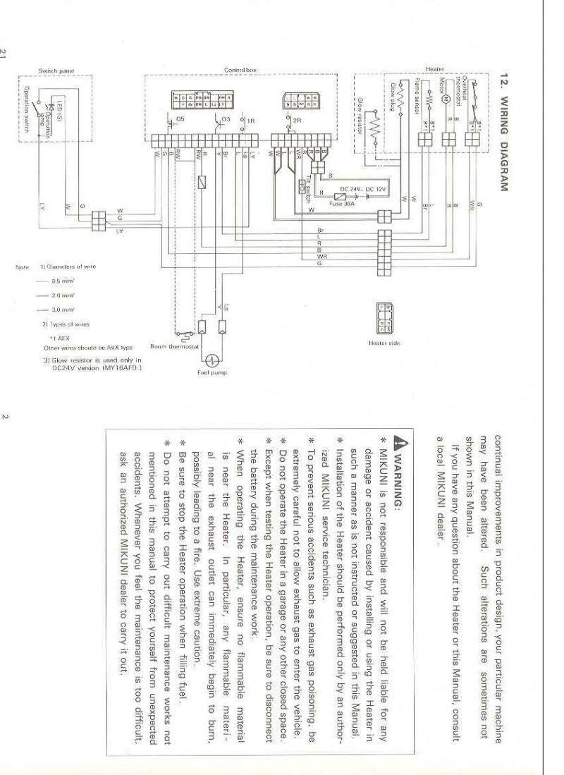 webasto heater wiring diagram tm 9309  webasto heater toggle switch wiring diagram free download  webasto heater toggle switch wiring