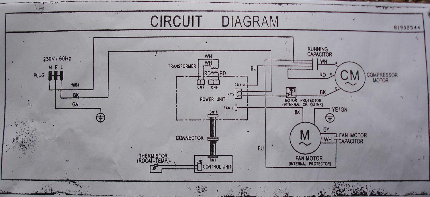 HH_8156] Window Unit Air Conditioner Wiring Diagrams Schematic WiringTobiq Leona Rele Mohammedshrine Librar Wiring 101