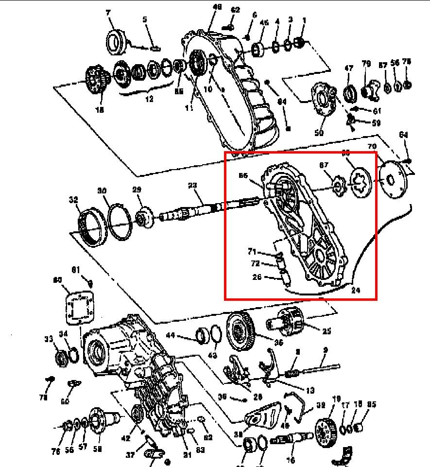 Gmc Sierra Transfer Case Diagram Wiring Diagram Reference A Reference A Reteimpresesabina It