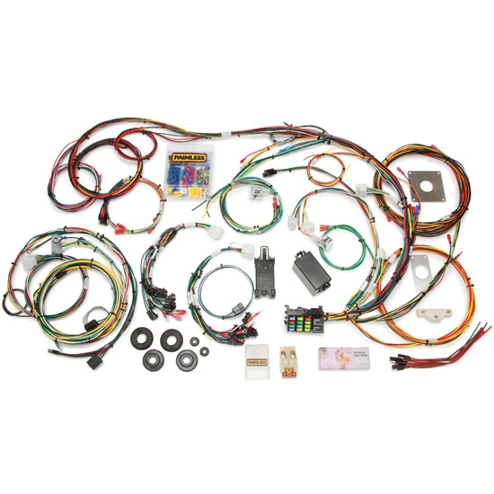 Brilliant Painless Wiring 20120 1964 1966 Mustang 22 Circuit Wiring Harness Wiring Cloud Uslyletkolfr09Org