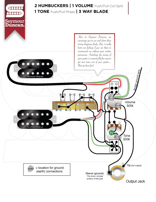 AD_1995] Two Humbucker With A Push Pull Tap 1 Vol 1 T One Wiring Diagram  Free Diagram | Two Humbucker With A Push Pull Tap 1 Vol 1 T One Wiring Diagram |  | Crove Bletu Benol Mohammedshrine Librar Wiring 101