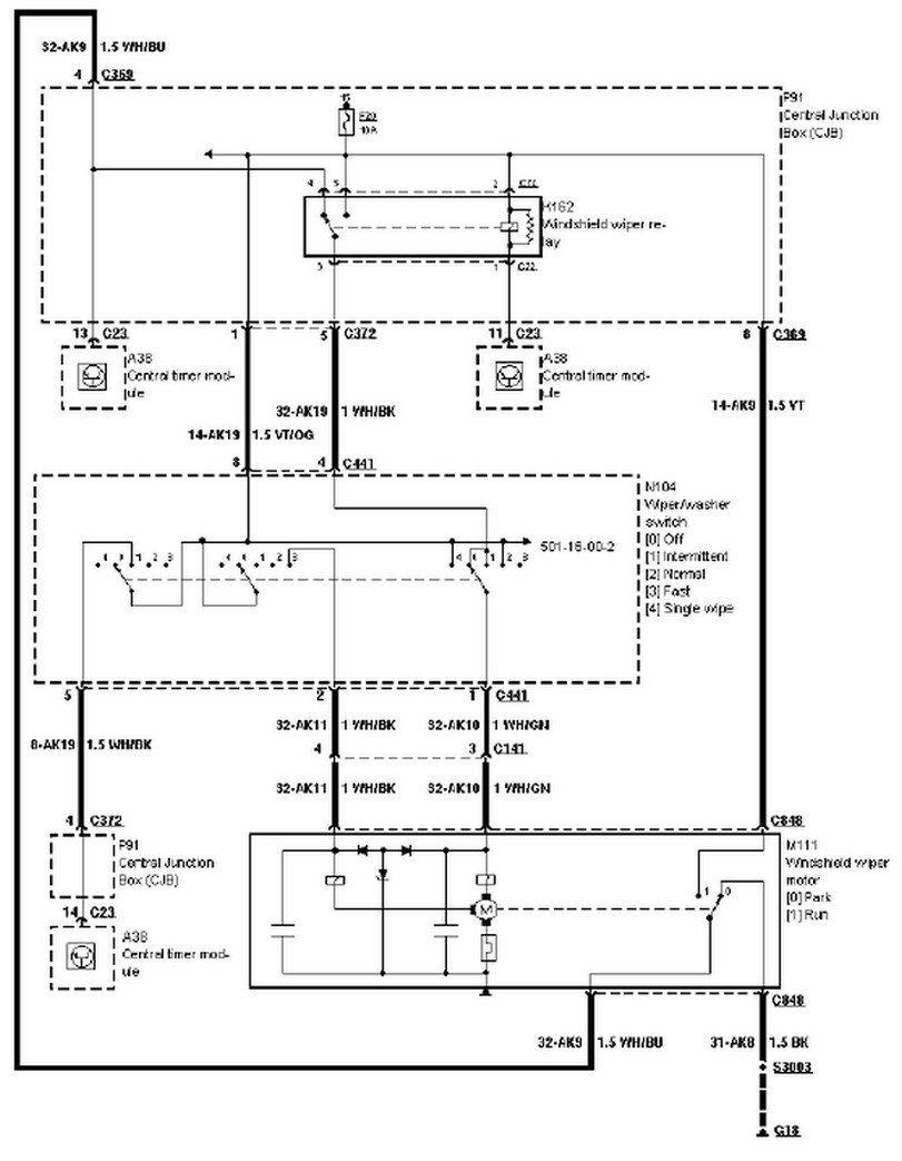 2000 Ford Contour Fuel Pump Wiring Diagram