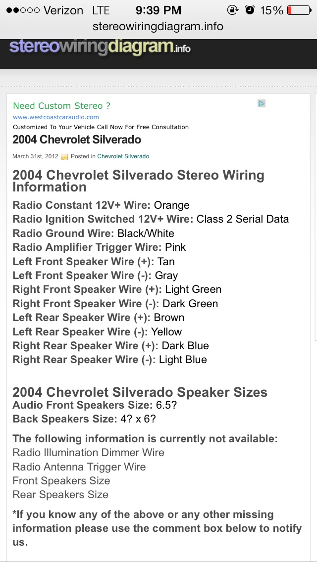 Chevy Cavalier Stereo Wiring Diagram Wiring Diagram