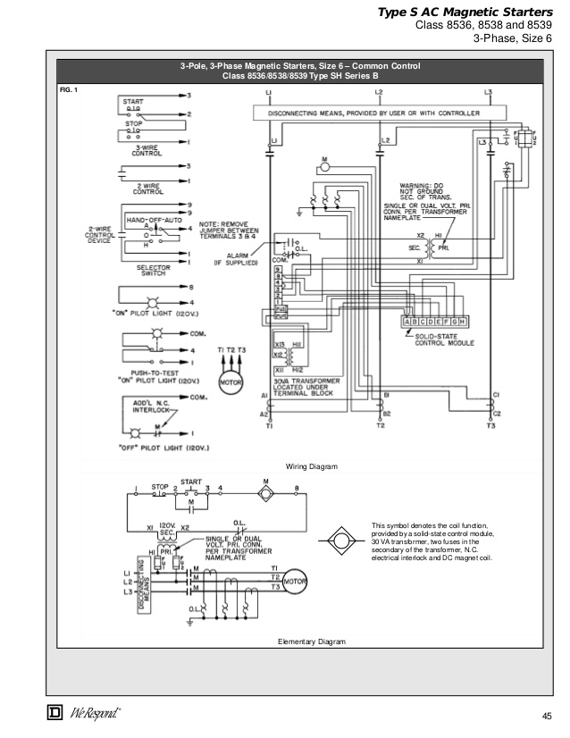 Wz 6749 Square D Motor Starter Wiring Diagram Phase 3 Wire System Square D Schematic Wiring