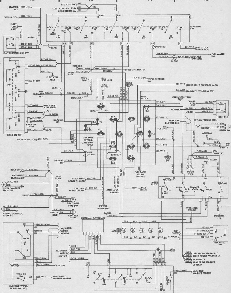 Magnificent 1995 E250 Wire Schematics Basic Electronics Wiring Diagram Wiring Cloud Onicaxeromohammedshrineorg