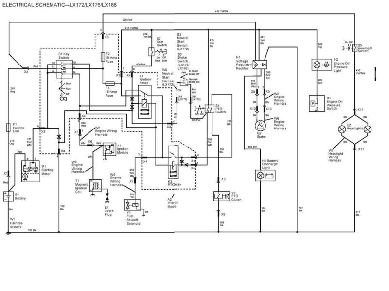 John Deere X540 Wiring Diagram - Standard Ford Trailer Wiring Diagram -  air-bag.carferra.genericocialis.it | X540 Wiring Diagram |  | Wiring Diagram Resource