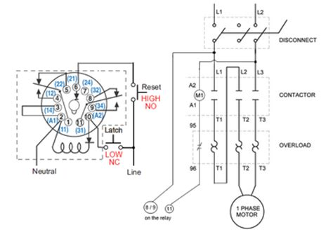 xl6575 8 pin cube relay diagram schematic wiring