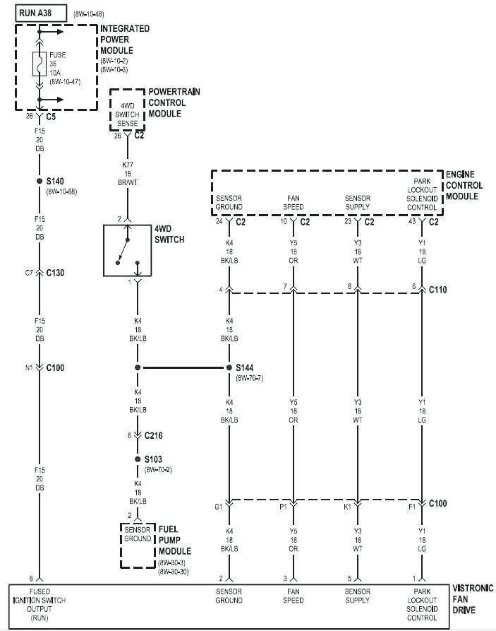 Xd 3770  Fan Clutch Wiring P0483 Fan Clutch Diagnosis