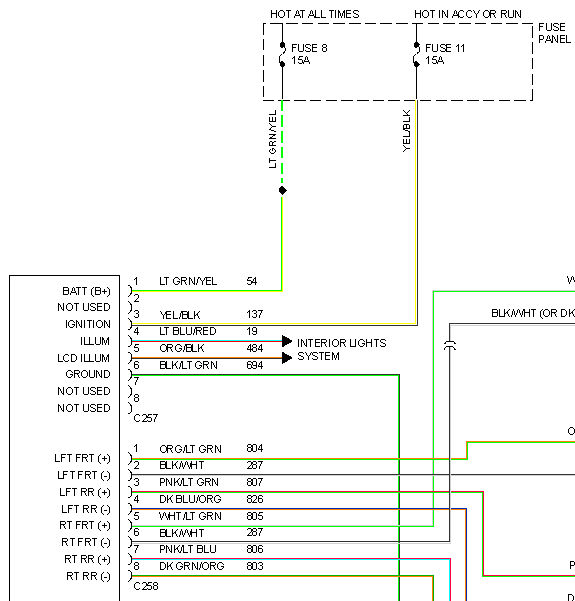 1993 Mustang Radio Wiring Wiring Diagrams Register Register Miglioribanche It