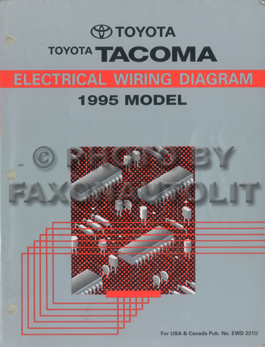 Rc 9407  Toyota Tacoma Radio Wiring Diagram For 95 Wiring